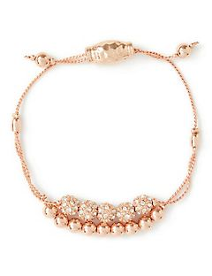 Rose Gold Slider Bracelet