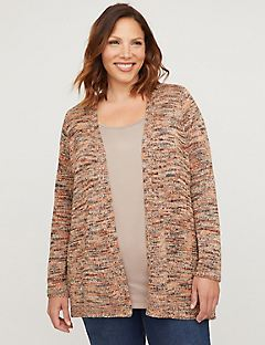 Meadowland Spacedye Cardigan with Sequins