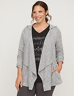 Active Dreamy Draped Cardigan