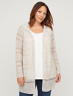 Skylight Cardigan with Hood