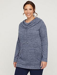 Active Cozy Cowlneck Sweatshirt