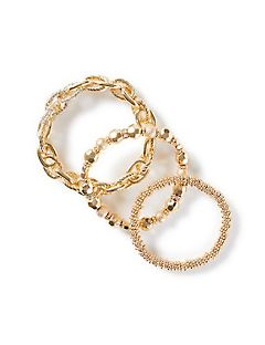 Golden Glow Stretch Bracelets