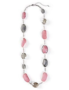 Lotus Glow Necklace (Single Strand)