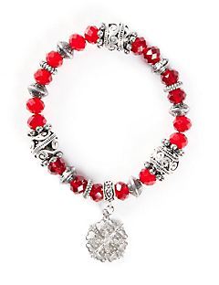 Flurry Charm Stretch Bracelet
