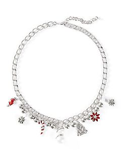 Holiday Charm Chain Necklace