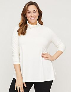 Swing Turtleneck Top