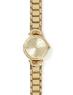 Rhinestone Halo Watch