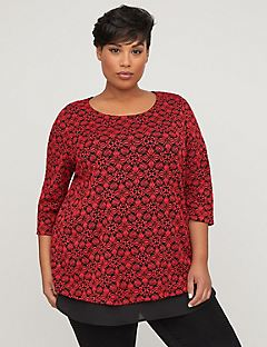 Evening Lace Duet Top
