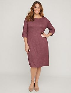 Cozy Knit A-Line Dress