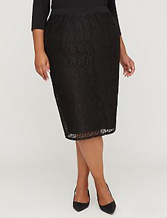 Black Label Lace Skirt