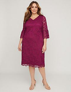 Lace Romance Shift Dress