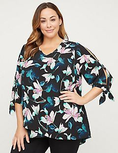 Lily Grove Crepe Top