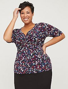 Curvy Collection Knot Front Top