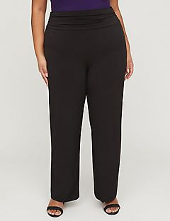 Curvy Collection Fold-Over Pants