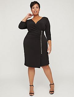 Curvy Collection Side Ruching Dress