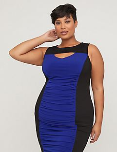 Curvy Collection Colorblock Tank