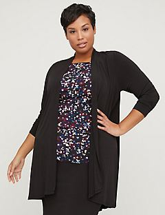 Curvy Collection High-Low Duster