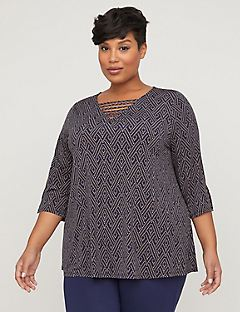 AnyWear Crisscross Tunic