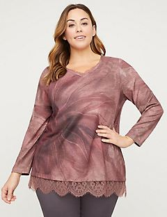 Blush Lace Duet Top