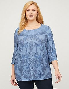 Ivy Wall Embroidered Lace Top