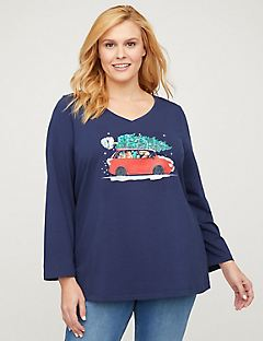 Holiday Drive Top - Long Sleeves
