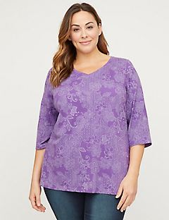 Flowering Lace Top