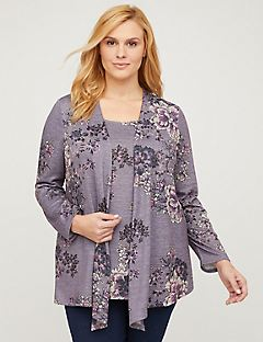 Violet Breeze Duet Cardigan