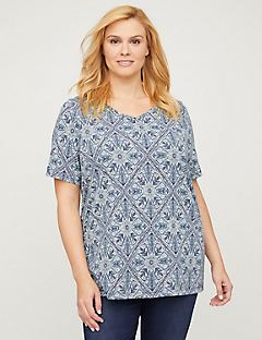 Kaleidoscope Top - Short Sleeves