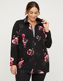 Active Floral Yoga Jacket