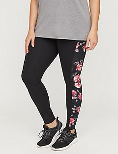 Active Floral Legging