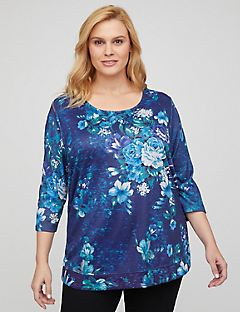 Bellflower Shimmer Top