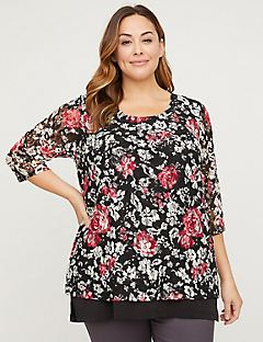 Rose Garden Lace Top
