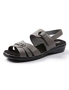 Good Soles Strappy Pewter Sandal