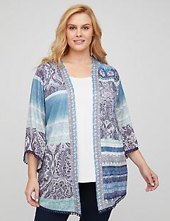 Paisley Play Cardigan