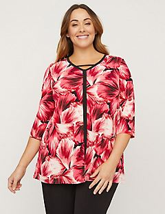 AnyWear Garden Tunic Top