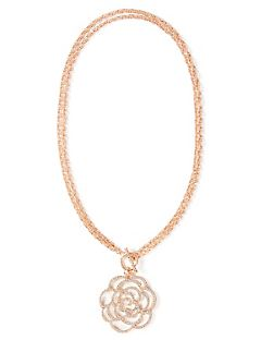 Brilliant Rose Convertible Necklace