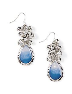 Sky Blue Drop Earrings