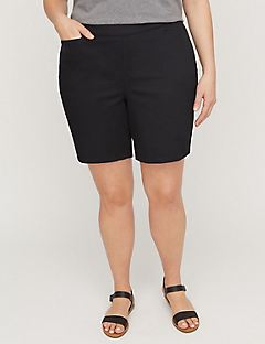 Essential Twill Flat Front Short