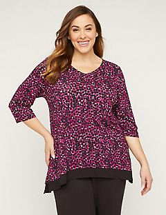 AnyWear Magenta Ease Tunic