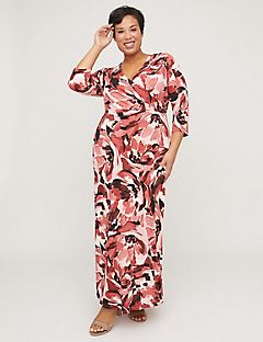 Rose Haven Maxi Dress