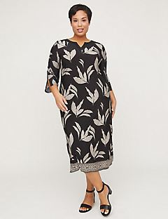 AnyWear Beech Leaf Sheath Dress