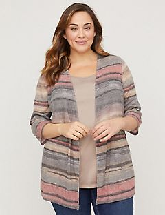 Skyline Striped Cardigan