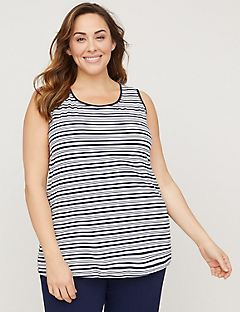 Striped Suprema Tank