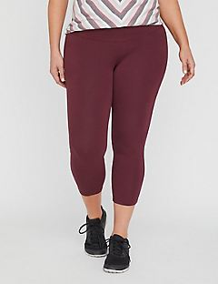 Colored Active Legging Capri