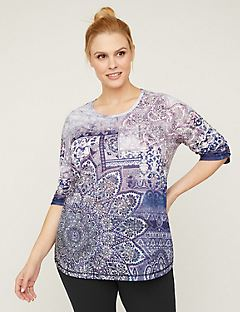 Sparkling Medallion Top