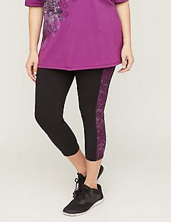 Medallion Capri Legging