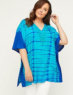 Embellished Sandbridge Poncho