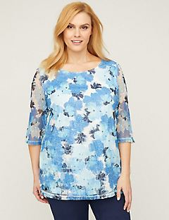 Poppy Tunic Top With Sequins