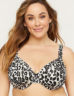 Full-Coverage Smooth Underwire Bra in Print