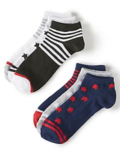 Stars & Stripes Ankle Socks 6-Pack